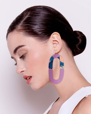 Wild Kate Mayes Double Arch Drop Earrings