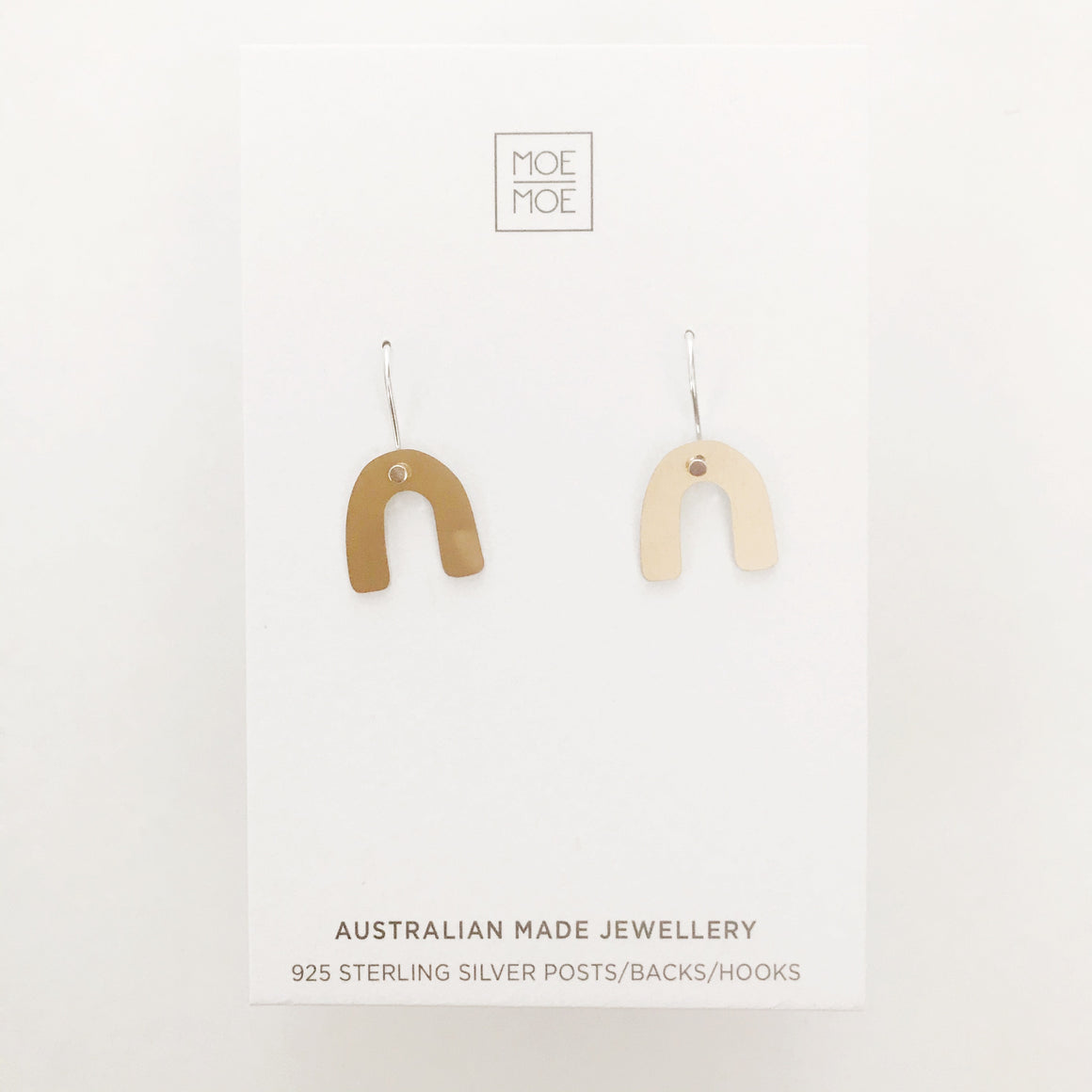 Gold Small Arch Drops - OUTLET