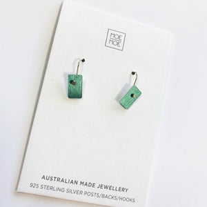 Metallic Medium Green Mini Bar Drops - OUTLET