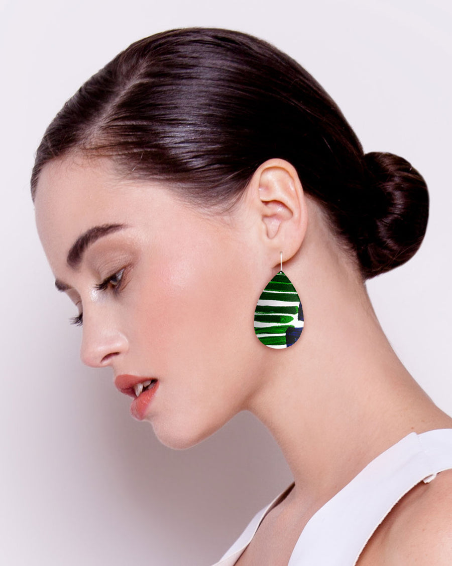 Hero Kate Mayes Medium Tear Drop Earrings