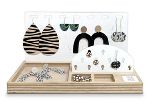 Jewellery Organiser in White