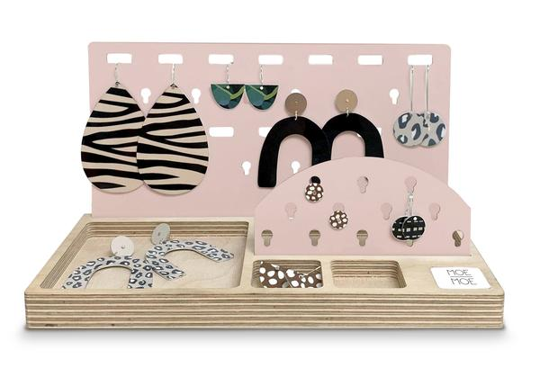 Signature Jewellery Organiser in Peach