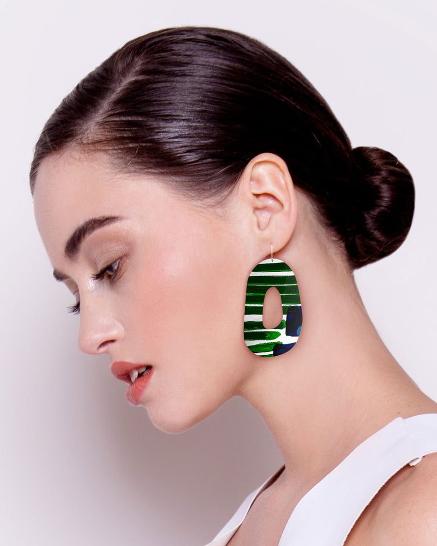 Hero Kate Mayes Organic Shape Drop Earrings