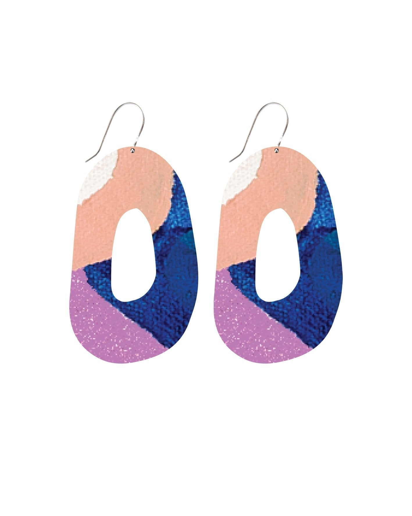 Wild Kate Mayes Organic Shape Drop Earrings