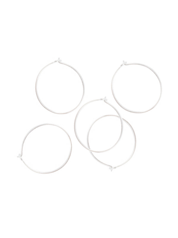 Sterling Silver Replacement Clasp Hoops