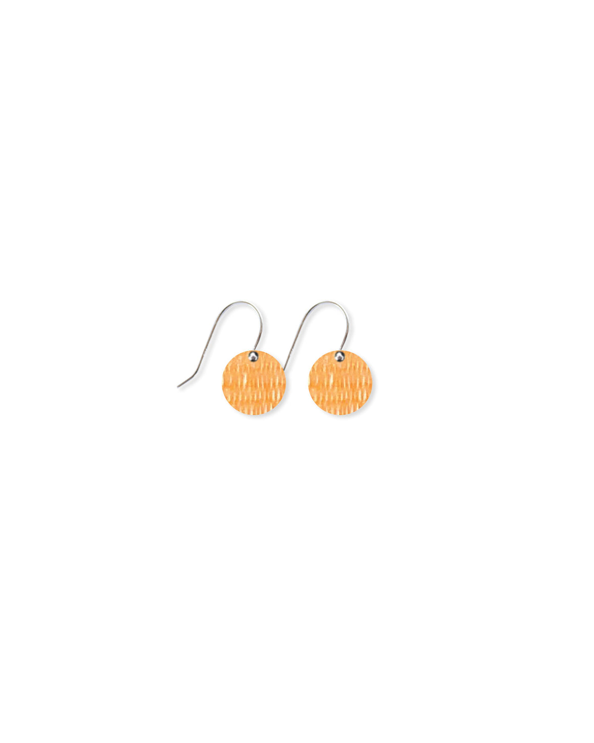 Juane Candice Perese Small Circle Drop Earrings