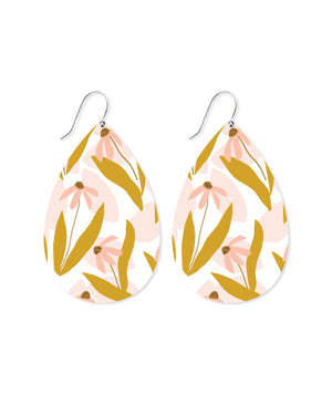 Marguerite Bloom Myriam Van Neste Big Tear Drop Earrings