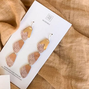 Organic Akweke Stories Organic Pippi Drop Earrings