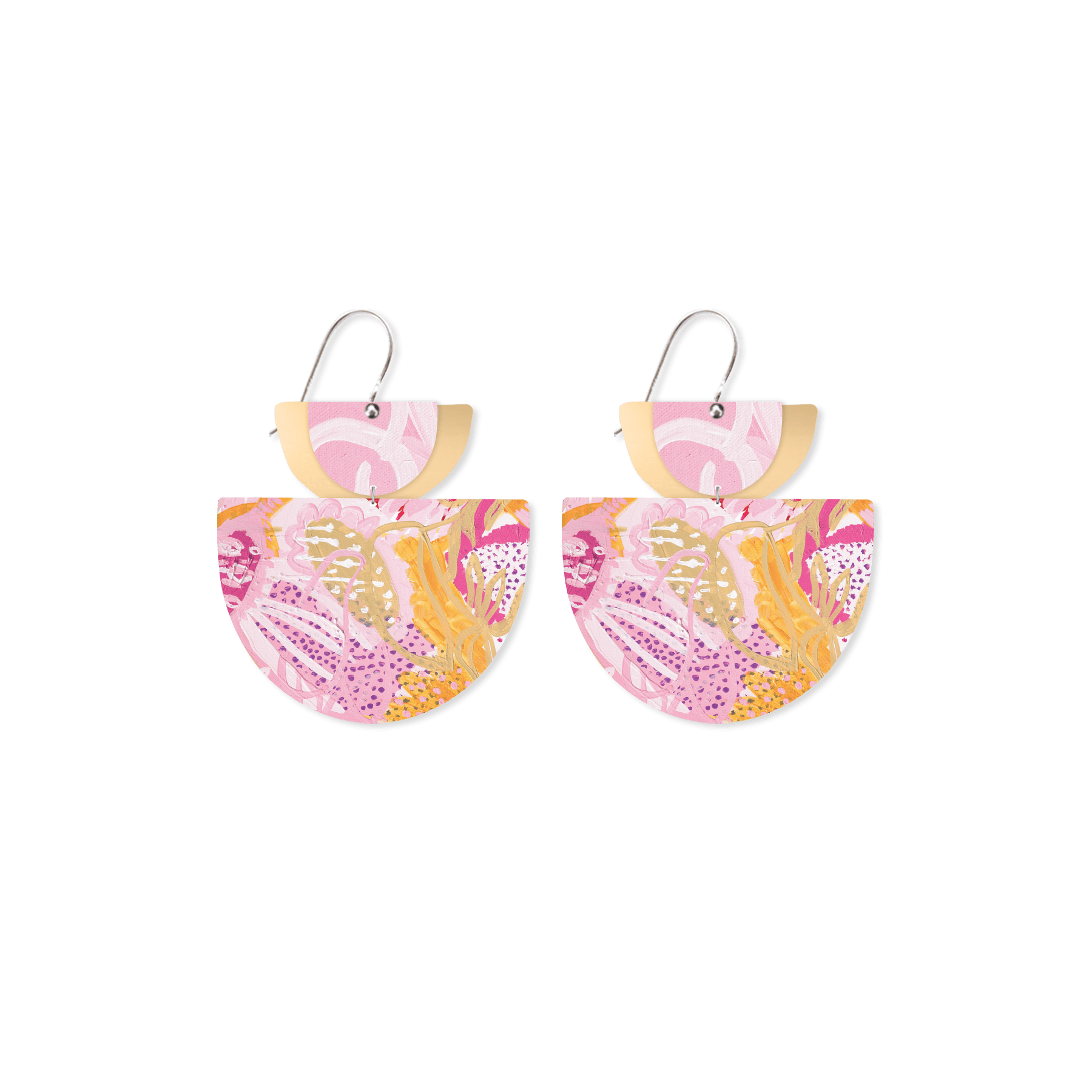 Morgan Jamieson Layered Double Bell Drop Earrings