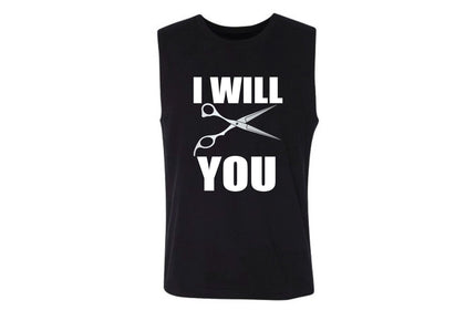I WILL CUT YOU Women's Muscle Tank- For the girl thats a little snippy