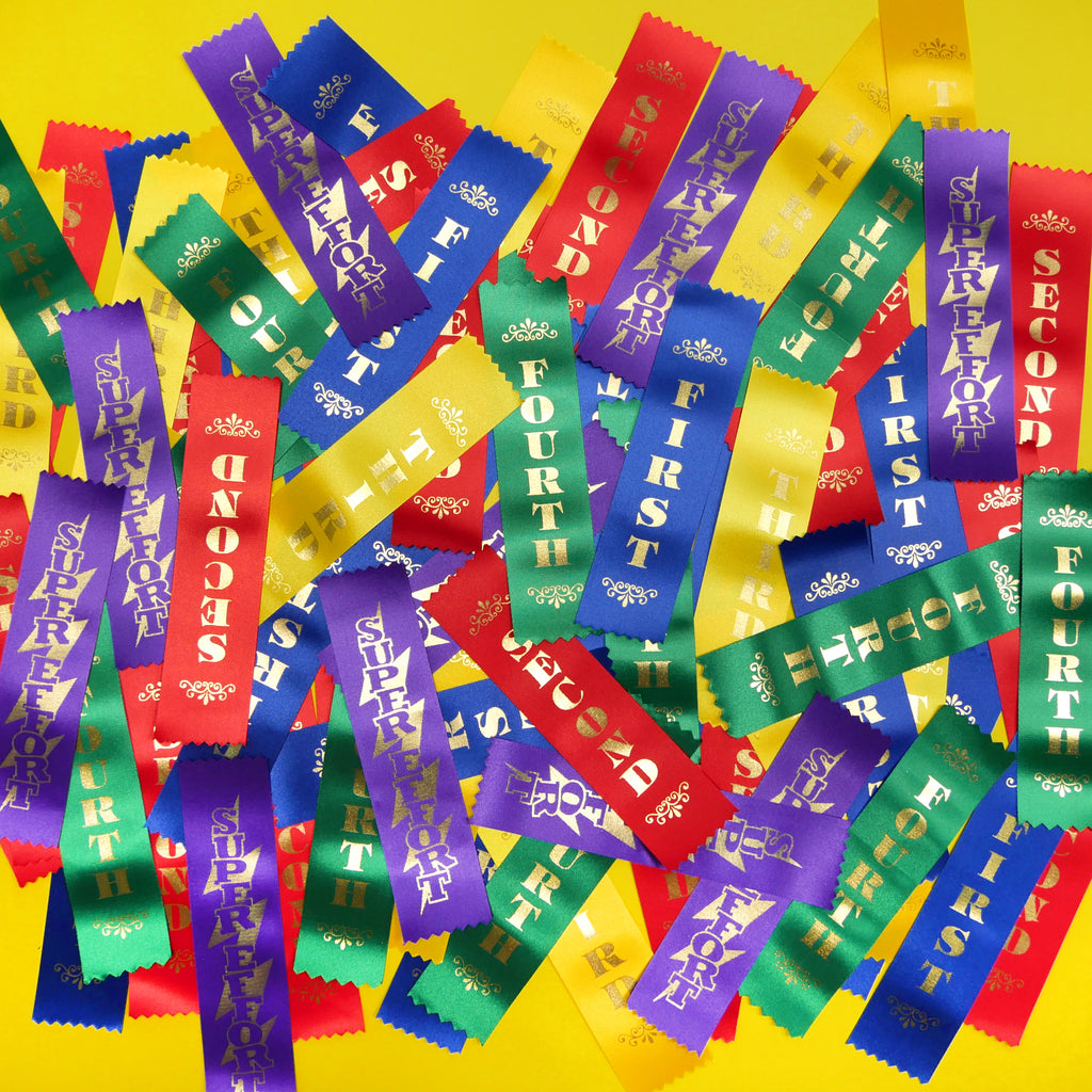 Ribbons WITH Pins Attached? We've Got 'Em!