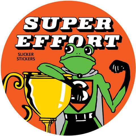 #208 Super Effort Stickers