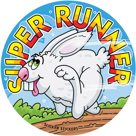 #216 Super Runner Stickers