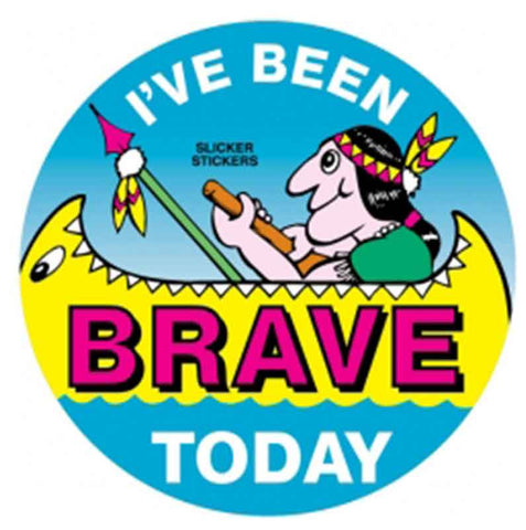 #2 I've Been Brave Today Stickers