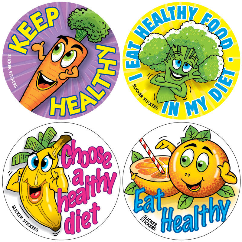 #309 Healthy Eating Stickers Multipack