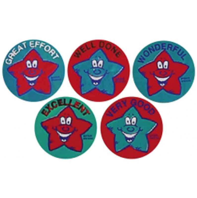 351 Smiling Star Metallic Multipack