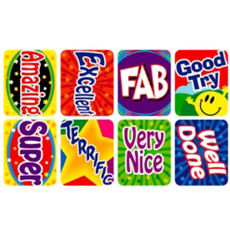 #368 Reward Stickers Multipack