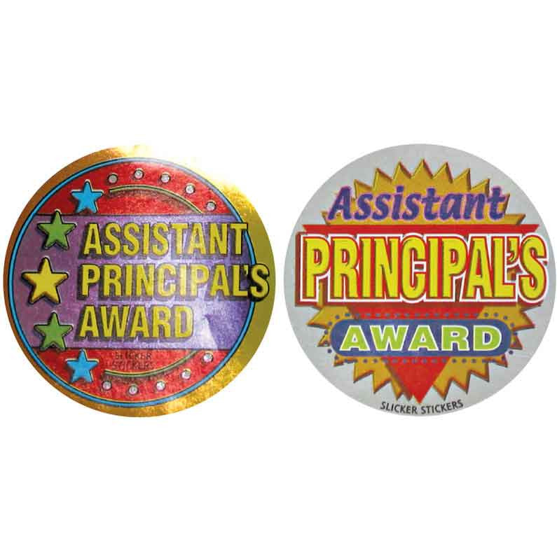 #588 Assistant Principal's Award Metallic Stickers Multipack