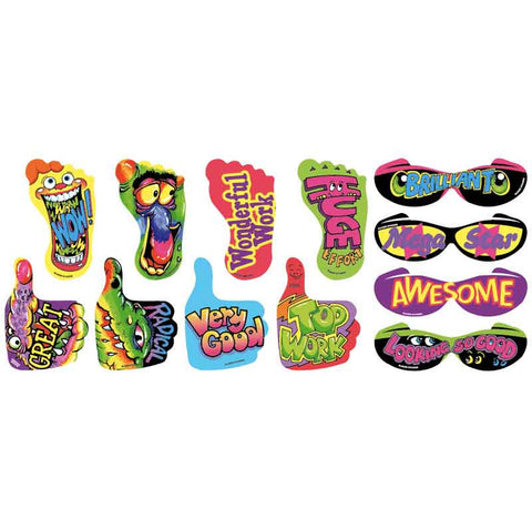#671 Hands & Feet Stickers Multipack