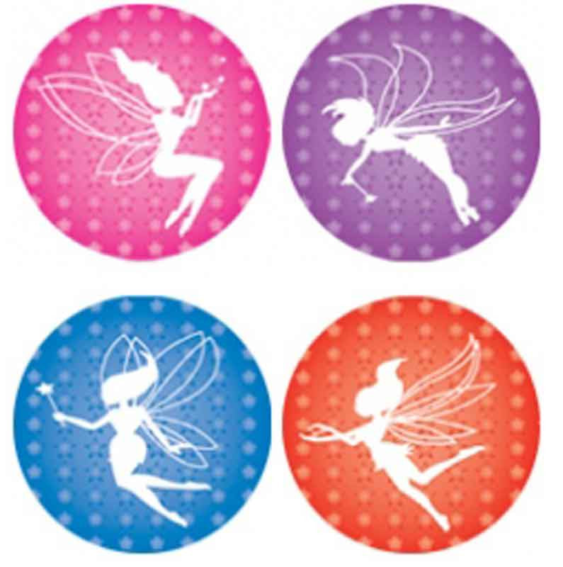#726 Fairies Metallic Stickers Multipack