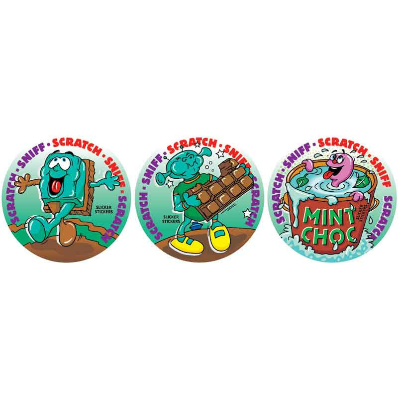 #954 Mint Chocolate Scratch n Sniff Smelly Stickers