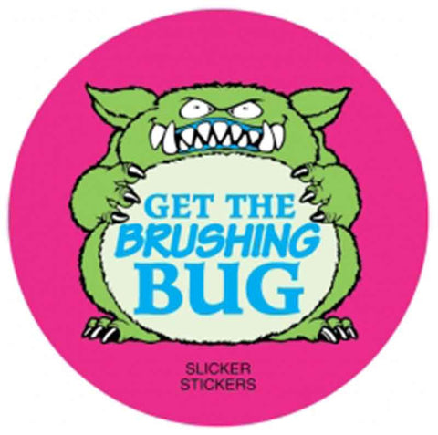 #10 Get The Brushing Bug Stickers