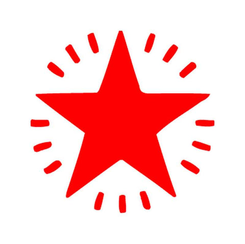 11365R Flashing Red Star XStamper