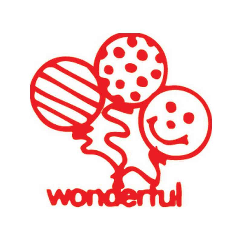 11394 Wonderful Balloons XStamper