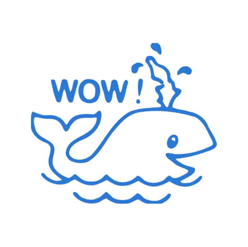 11426 Wow! Whale XStamper