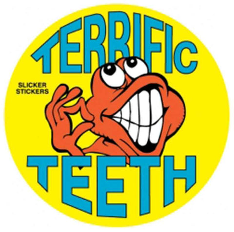 #11 Terrific Teeth Stickers