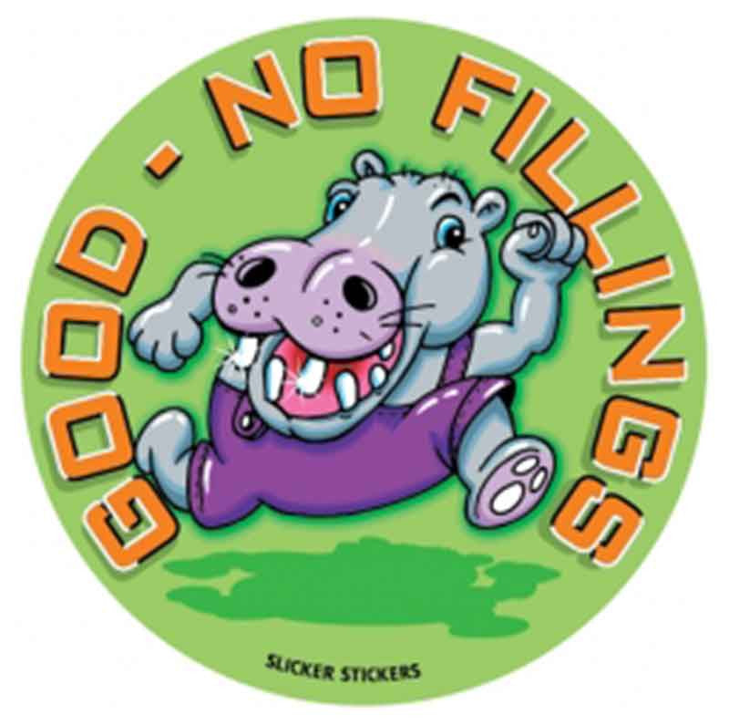 #16 Good - No Fillings Stickers