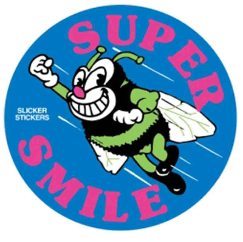 #21 Super Smile Stickers
