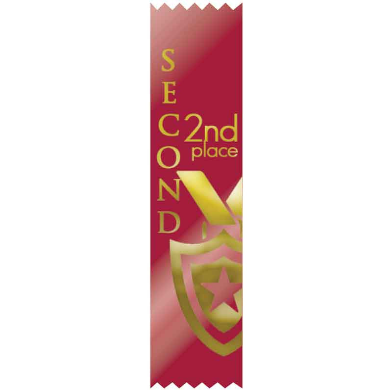 SR47 2nd Place Satin Ribbons *discontinued*
