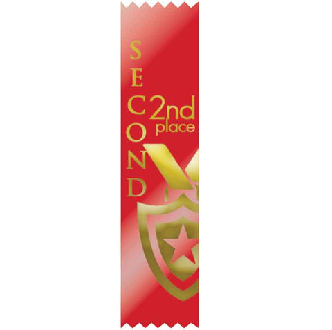 #SR48 / #S48 2nd Place Satin Ribbons