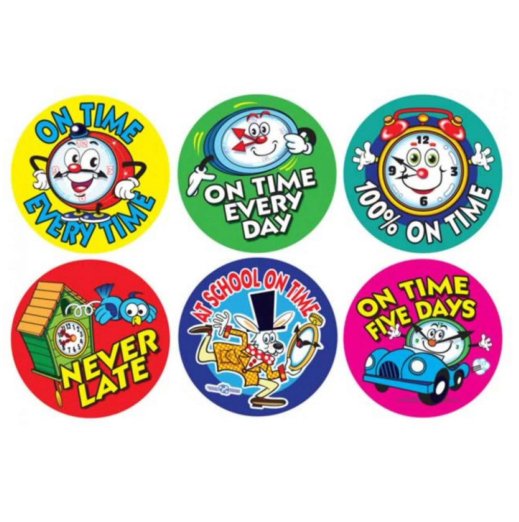 #389 On Time Stickers Multipack