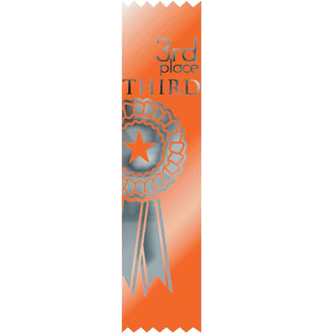 #SR50 / #S50 3rd Place Satin Ribbons