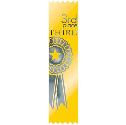#SR49 / #S49 3rd Place Satin Ribbons