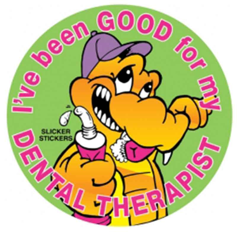 #41 I''ve Been Good For My Dental Therapist Stickers