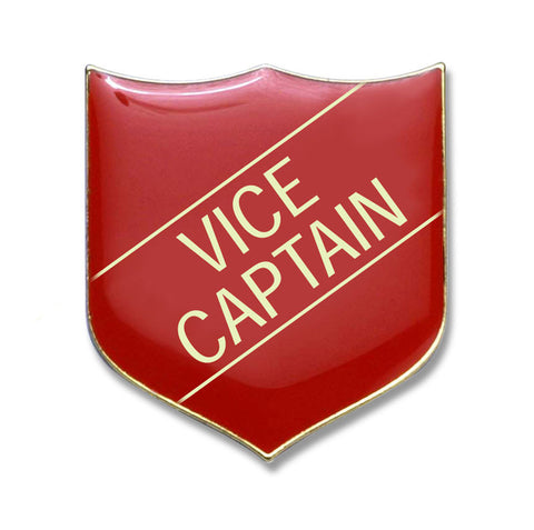 #E210 Vice Captain Enamel Badges- pack of 5