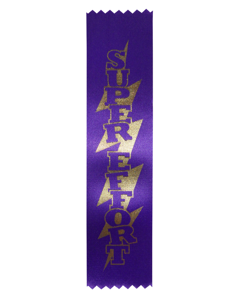 SR25 Super Effort Satin Ribbon