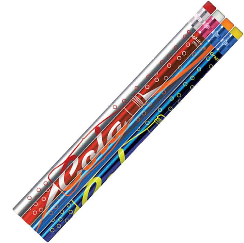 #P699 Cola Scented Metallic Lead Pencils