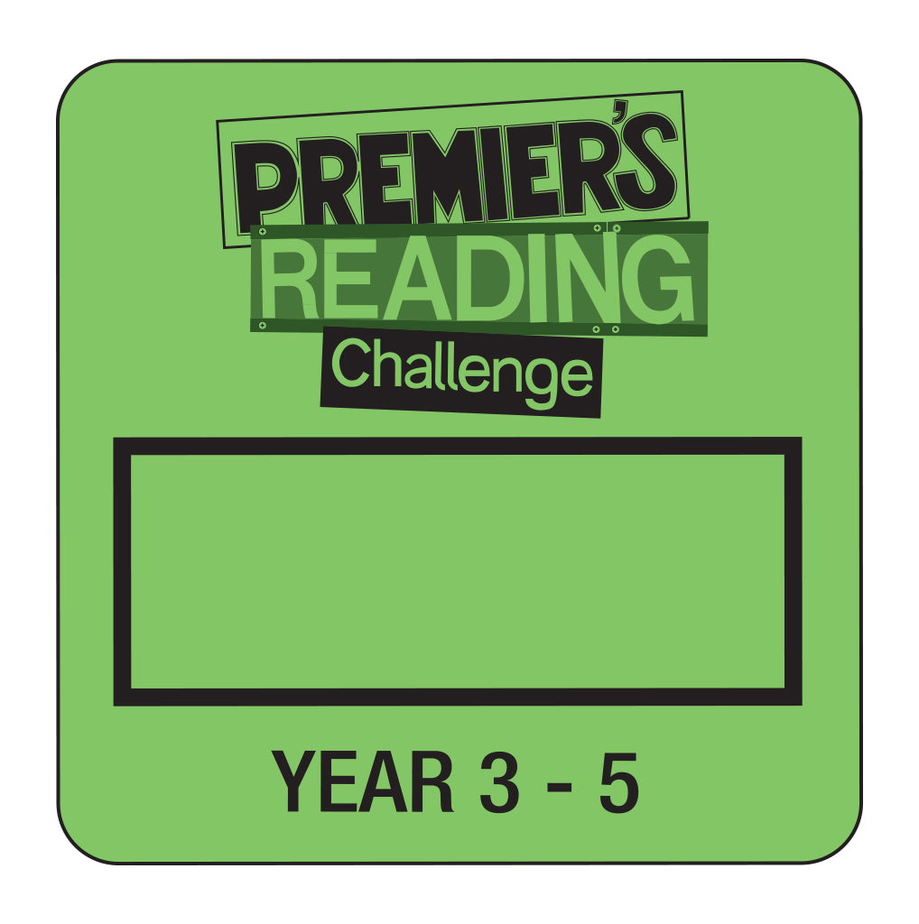 Y3-5 Premier's Reading Challenge - Year 3 to Year 5