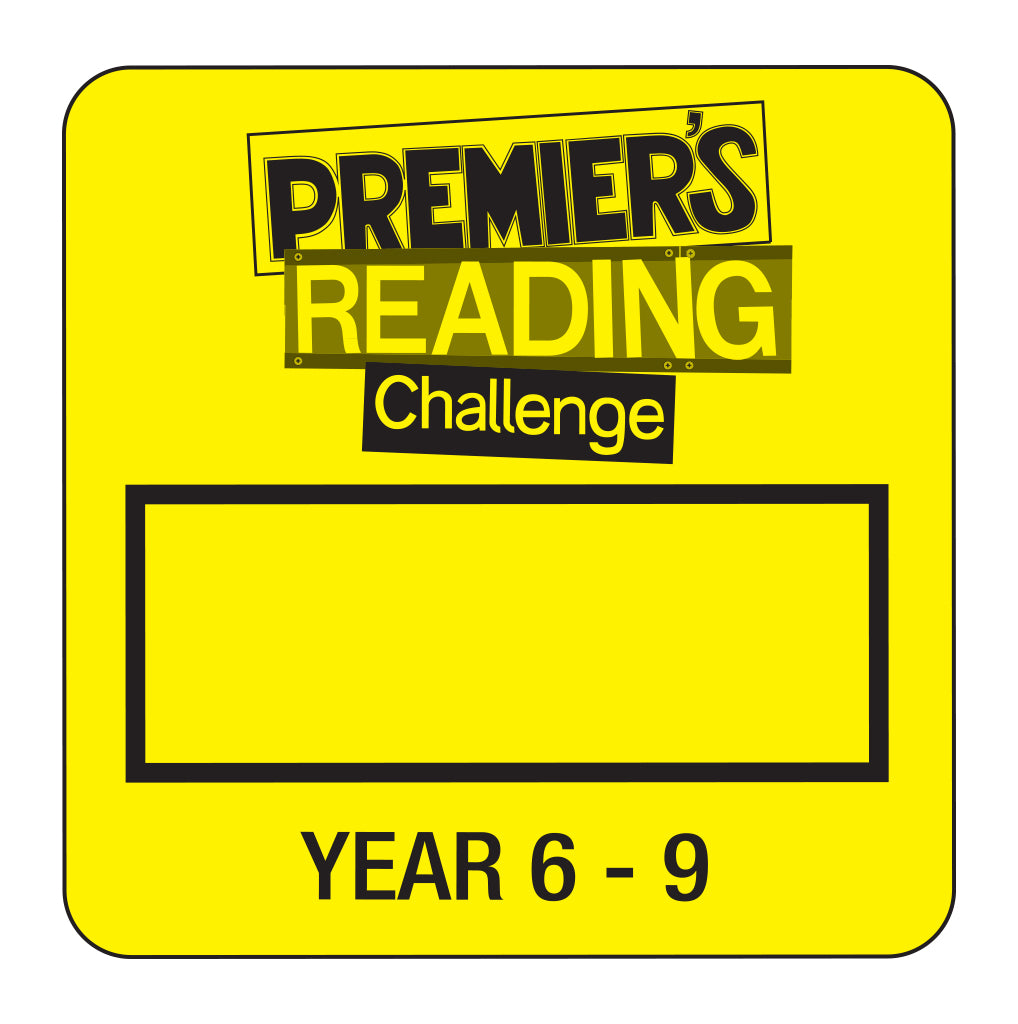 Y6-9 Premier's Reading Challenge - Year 6 to Year 9