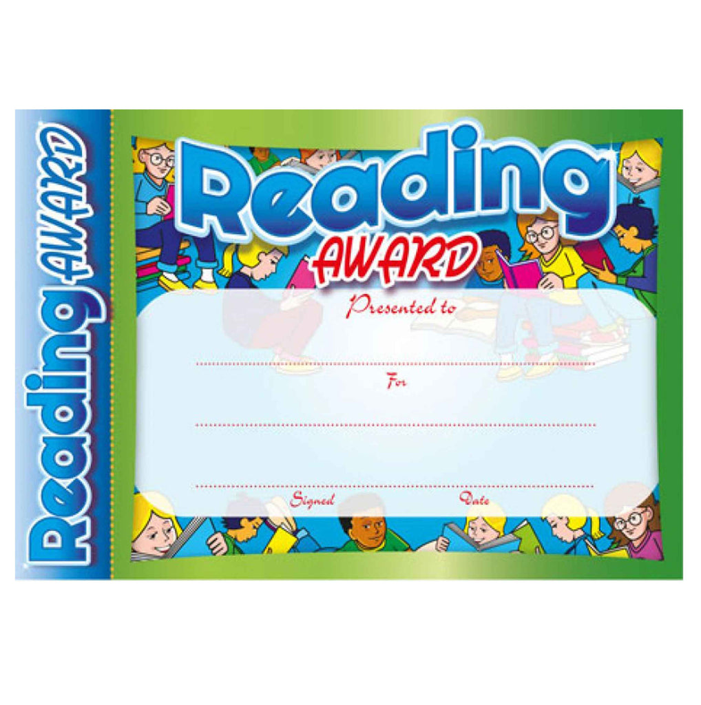 #6151 & #6152 Reading Award Certificates – School Merit ...