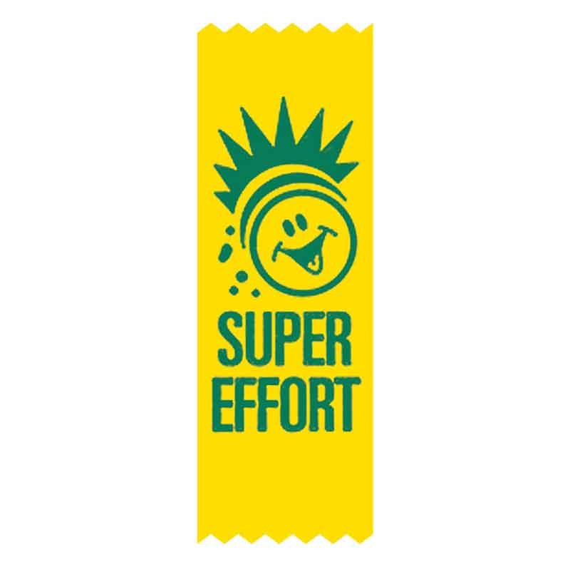 SR33 Super Effort Vinyl Ribbon