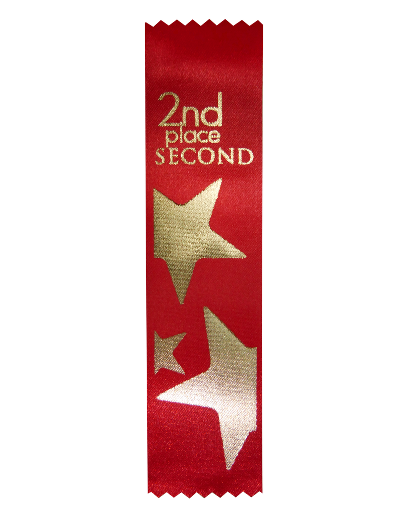 SR 55 2nd Place Satin Ribbon