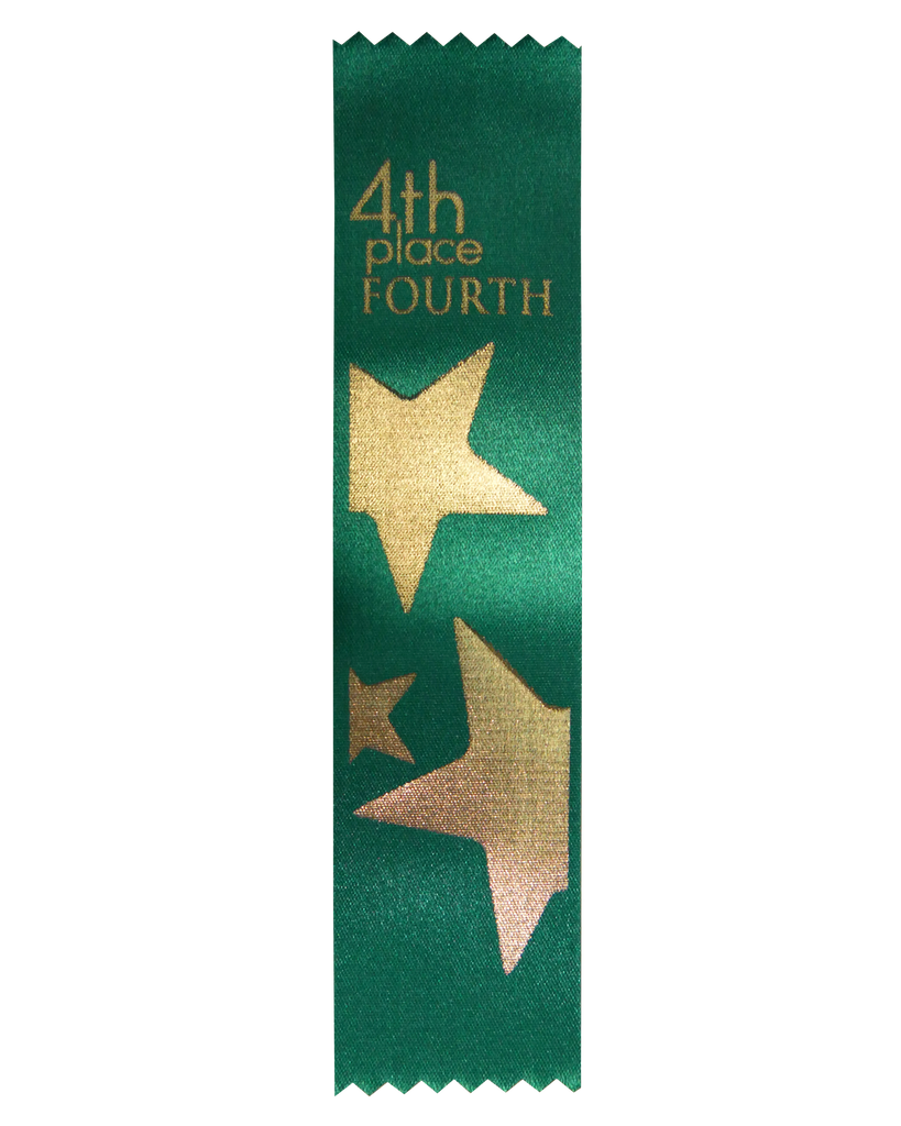 SR57 4th Place Satin Ribbon