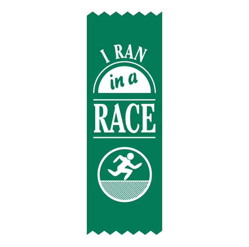 SR6 I Ran in a Race Vinyl Ribbons