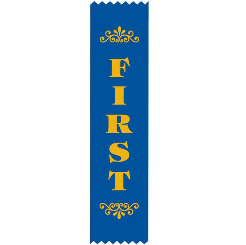 SR8 1st Place Satin Ribbon