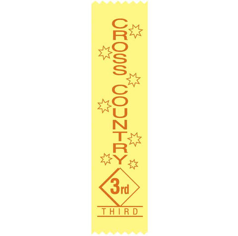 #SR17 / #S17 3rd Place Cross Country Satin Ribbons